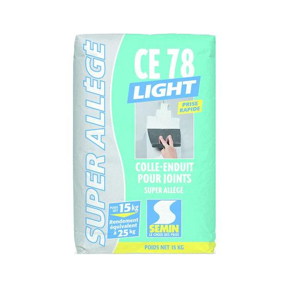 enduit all g en poudre pour joints de plaques de pl tre ce 78 light poudre semin. Black Bedroom Furniture Sets. Home Design Ideas