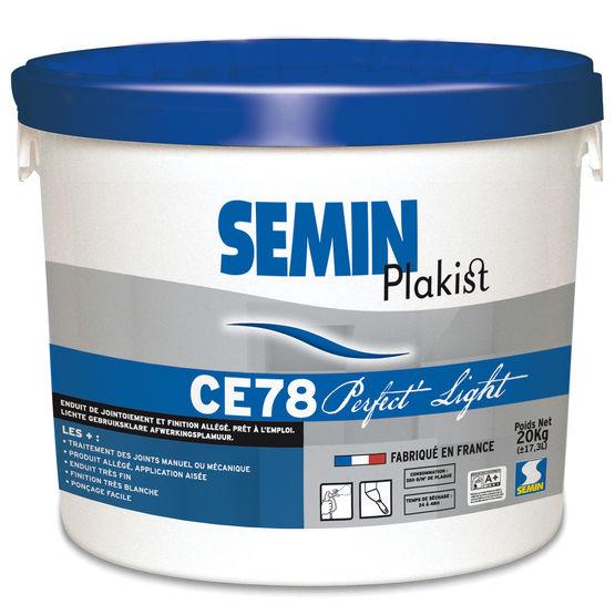 Enduit pour joints de plaques de pl tre ce 78 perfect light semin - Enduit exterieur pret a l emploi ...