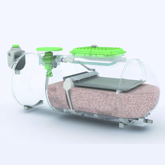 epuration des eaux us es avec filtre coco compact apc premier tech aqua purflo. Black Bedroom Furniture Sets. Home Design Ideas