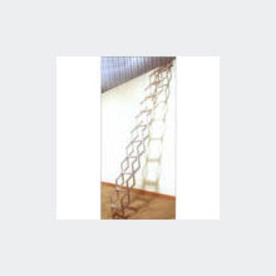 escalier escamotable au plafond en six hauteurs bora. Black Bedroom Furniture Sets. Home Design Ideas