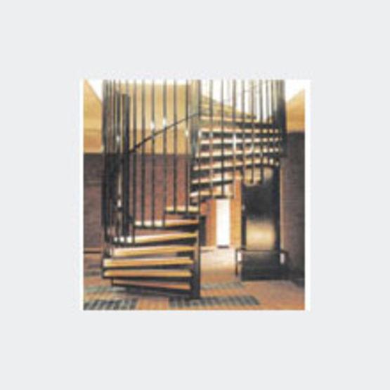 Escalier Helicoidal Pour Etablissements Recevant Du Public Escalier A Cage Canari