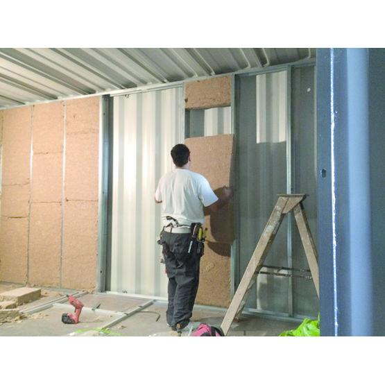 Espace de vie modulaire partir de containers recycl s for Espace de vie construction