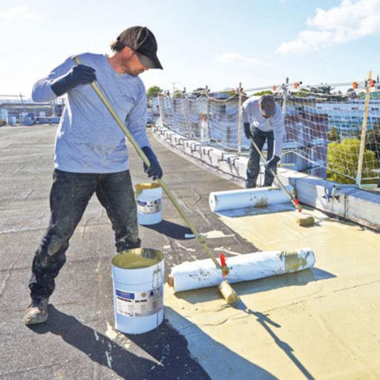 Etanch it liquide pour terrasses inaccessibles kemper for Produit etancheite terrasse