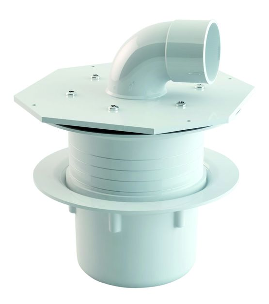 Evacuation pour baignoire adaptable une douche de plain for Siphon de douche nicoll
