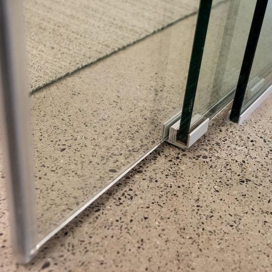 Extendo ouverture t lescopique pour portes coulissantes - Portes coulissantes vitrees ...