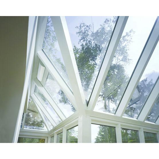 Extracteur d 39 air pour toiture de v randa renson - Materiaux pour toiture de veranda ...