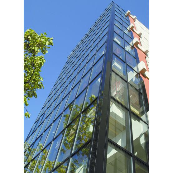 Mur rideau et verrière aluminium de grandes dimensions   MUR RIDEAU ...