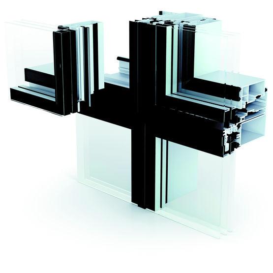 fa ade rideau structurelle en aluminium wictec 50sg wicona sapa building systems france. Black Bedroom Furniture Sets. Home Design Ideas