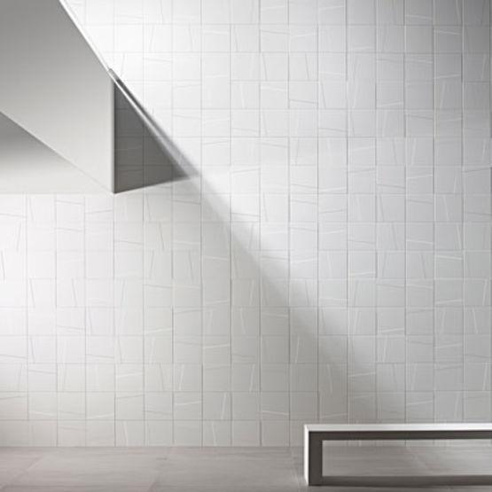 fa ence murale maill e en trois s ries lisses ou. Black Bedroom Furniture Sets. Home Design Ideas