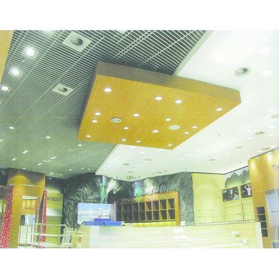 Faux plafond r sille lames filantes vertigrille for Faux plafond resille