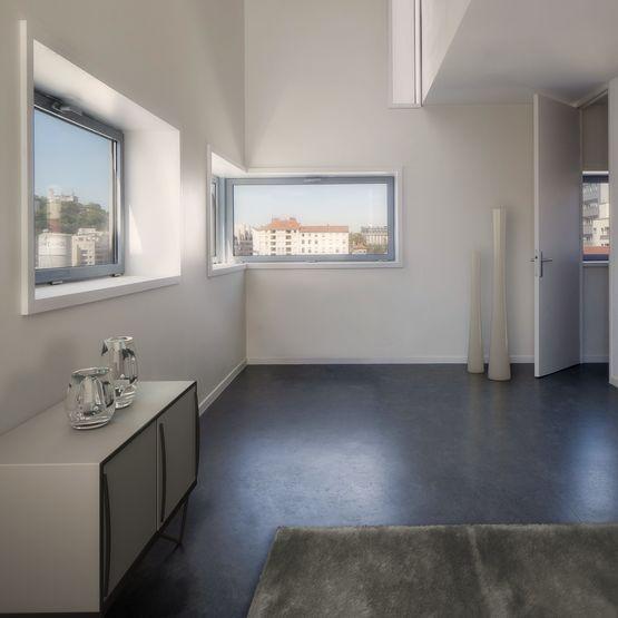 fen tre frappe en pvc triple vitrage jusqu 39 52 cm d 39 paisseur softline 82 veka. Black Bedroom Furniture Sets. Home Design Ideas