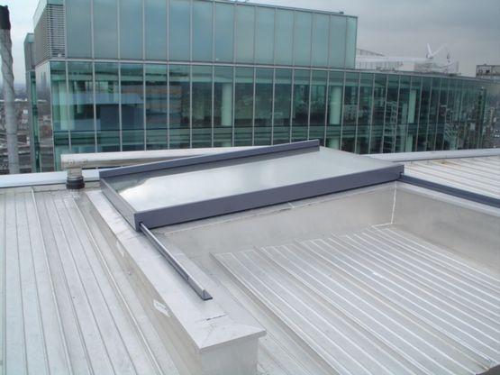 Fen tre de toit coulissante ouverture totale gv - Panneau coulissant fenetre ...