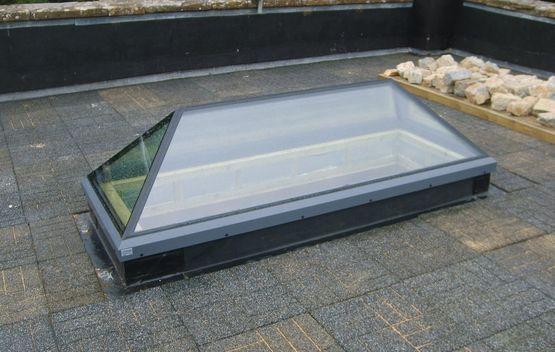 Fenetre toit for Toiture plate prix
