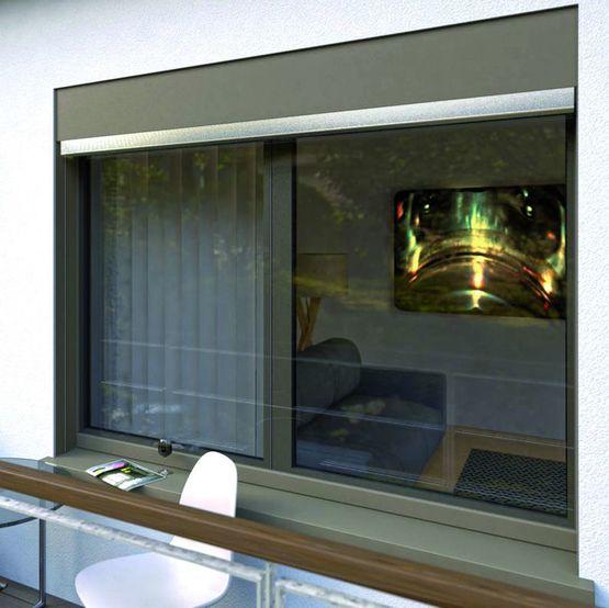 Fen tre en aluminium et pvc recycl vitrage ext rieur for Colle pour fenetre pvc