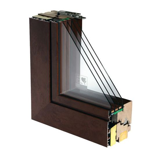 fen tre en bois aluminium haute r sistance des facteurs. Black Bedroom Furniture Sets. Home Design Ideas