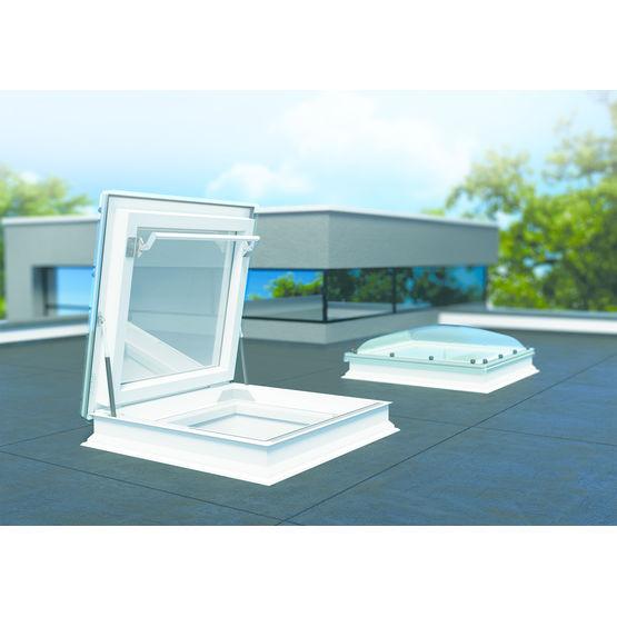 Fen tre en pvc isol pour toit plat drc fakro - Fenetre de toit plat ...