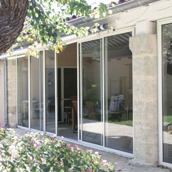 fen tre et baie coulissante en aluminium ou galandage. Black Bedroom Furniture Sets. Home Design Ideas