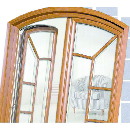 fen tre pvc performante ouvrant cach elegance fenstar. Black Bedroom Furniture Sets. Home Design Ideas