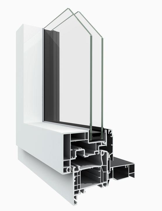 Fenêtres Alu Extérieur Et Pvc Intérieur Multimatériaux M3d Pvc