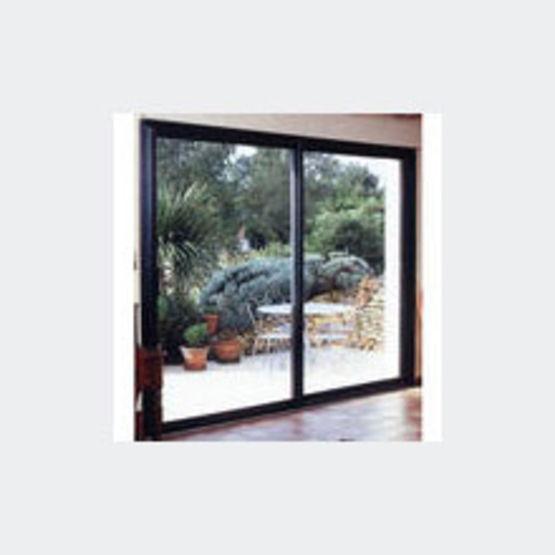 fen tres et porte fen tres coulissantes en aluminium alu f37 standing huet. Black Bedroom Furniture Sets. Home Design Ideas