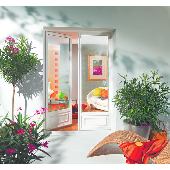 Fenetre et porte en pvc id es de for Decoration fenetre gel