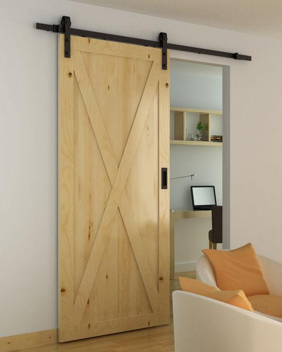 bario ii ac030106 ferrure de porte coulissante bois. Black Bedroom Furniture Sets. Home Design Ideas