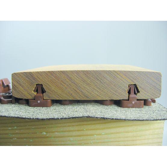 Clip juan fixation pour lames de terrasse batiproduits - Fixation lambourde terrasse bois ...