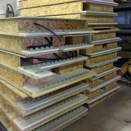 Fond de coffrage perdu restant apparent pour planchers syscobat - Coffrage perdu metallique plancher collaborant ...