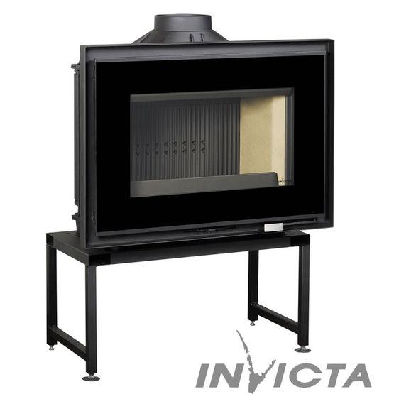 Invicta Rt Foyer Des Arts : Foyer ac à bois kw avec post combustion compatible