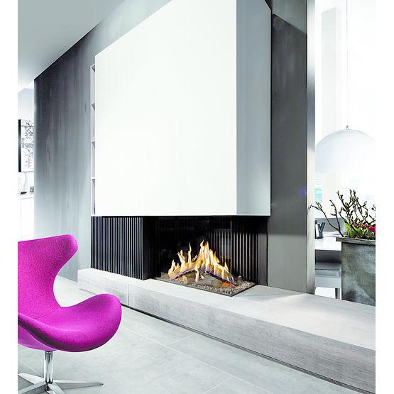 foyer gaz ferm jeu de flammes lev fairo eco prestige kal fire. Black Bedroom Furniture Sets. Home Design Ideas