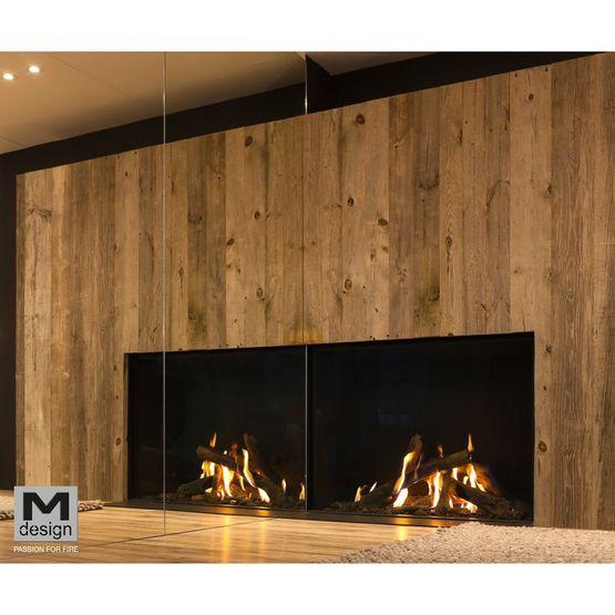 Foyers Gaz Pour Cheminees M Design True Vision Batiproduits