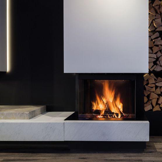foyers bois pour chemin e porte escamotable m design. Black Bedroom Furniture Sets. Home Design Ideas