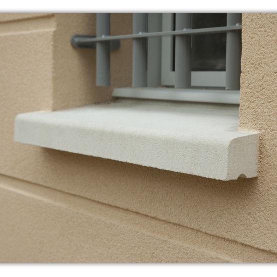 Gamme d 39 appuis de fen tre ou de porte en b ton hydrofug for Peinture pour appui de fenetre en beton