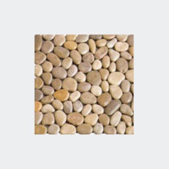 Gamme de dalles et frises en galets naturels pr assembl s for Sol en galets exterieur