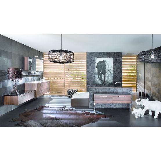 Gamme de meubles de salles de bains aux lignes contemporaines | Influences  d\'Aujourd\'hui