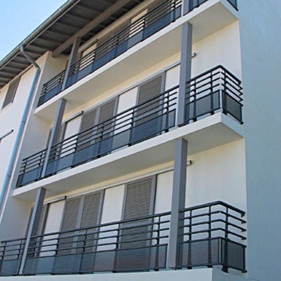 garde corps aluminium remplissage athys horizal. Black Bedroom Furniture Sets. Home Design Ideas