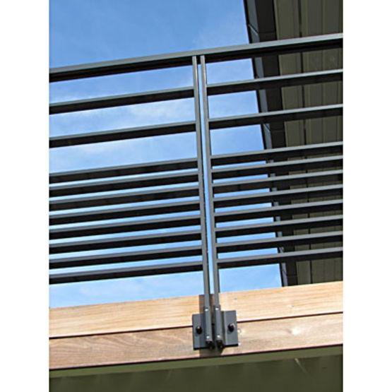 garde corps aluminium remplissage ou barreaudage ax sur. Black Bedroom Furniture Sets. Home Design Ideas