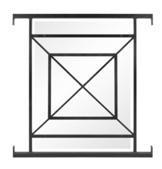 garde corps en acier pour fen tre balconnets lahfer. Black Bedroom Furniture Sets. Home Design Ideas