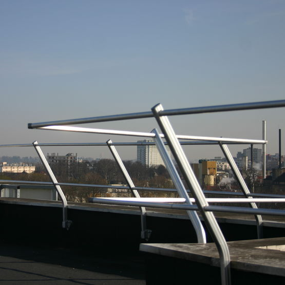 garde corps pour terrasses plateformes et toitures anoxa. Black Bedroom Furniture Sets. Home Design Ideas