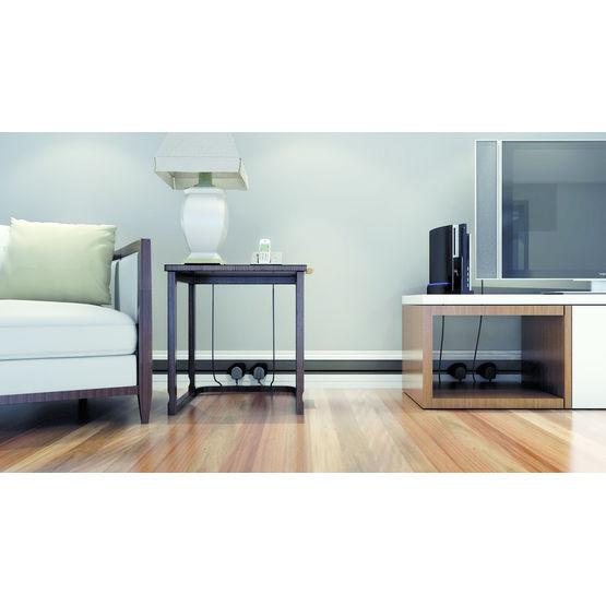 goulotte avec prises placement libre mainline. Black Bedroom Furniture Sets. Home Design Ideas