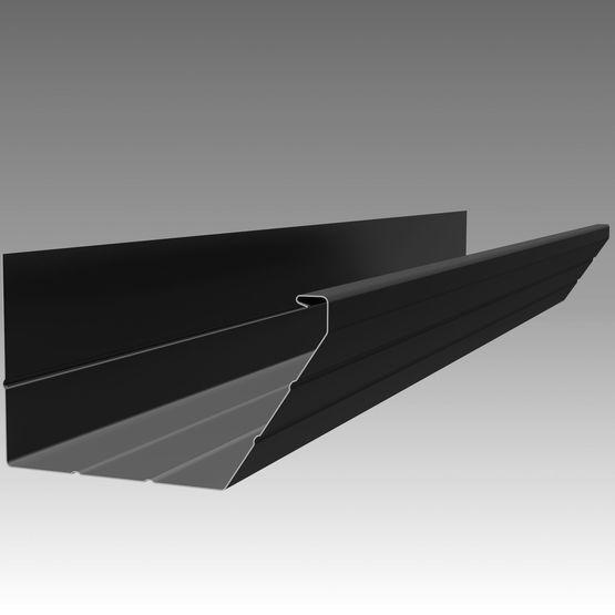 goutti re trap ze en aluminium pr laqu au design pur. Black Bedroom Furniture Sets. Home Design Ideas