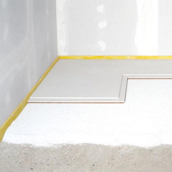 granul s pour la mise niveau des sols granules d 39 galisation fermacell. Black Bedroom Furniture Sets. Home Design Ideas