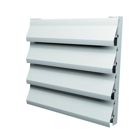 Grille de ventilation en aluminium de faible poids slp - Grille de ventilation exterieure aluminium ...