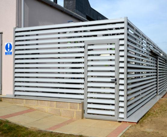 grille de ventilation en aluminium de faible poids slp. Black Bedroom Furniture Sets. Home Design Ideas