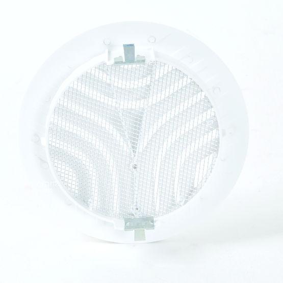 grille de ventilation pour tube avec moustiquaire gatm. Black Bedroom Furniture Sets. Home Design Ideas