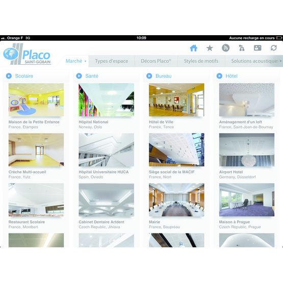 guide pour conception de plafonds acoustique et d coratifs. Black Bedroom Furniture Sets. Home Design Ideas