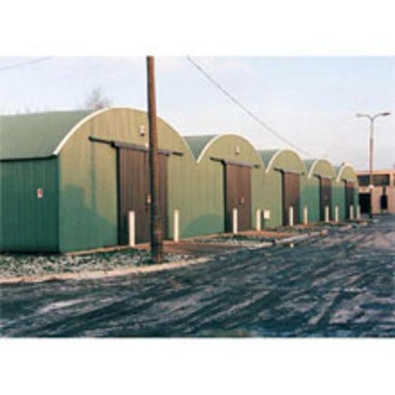 hangar parois droites et toiture en arc upsilon frisomat. Black Bedroom Furniture Sets. Home Design Ideas