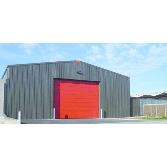hangar pr fabriqu en acier galvanis de 12 19 m tres. Black Bedroom Furniture Sets. Home Design Ideas