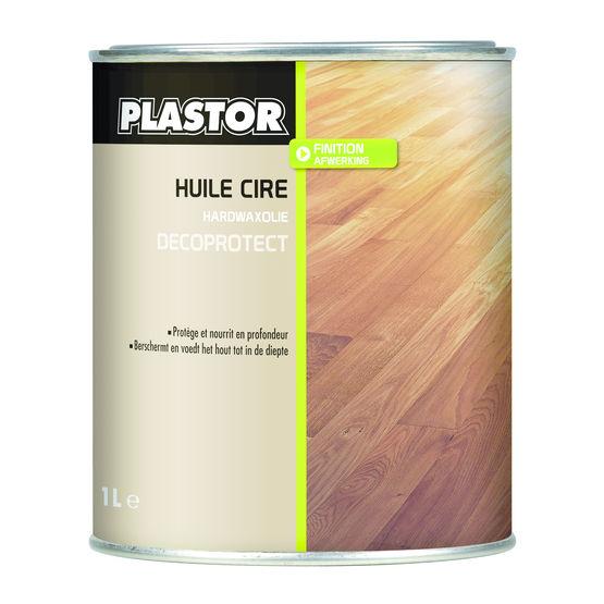 Huile cire incolore ou teint e pour parquets bois plastor - Huile teintee pour teck ...