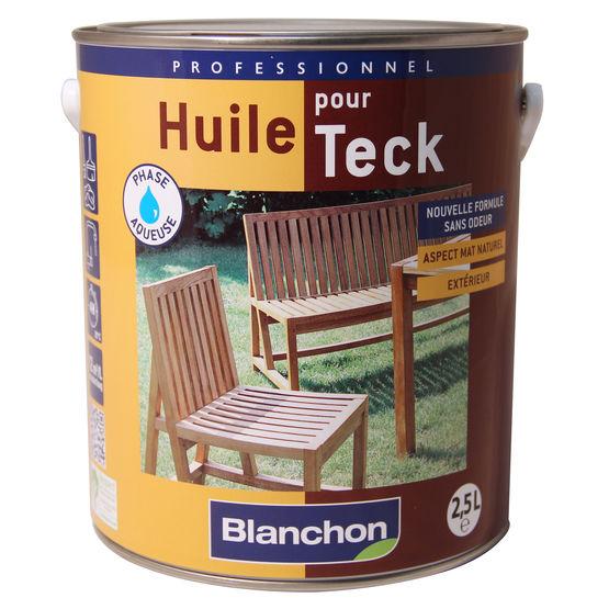 huile de protection pour bois exotiques huile pour teck blanchon. Black Bedroom Furniture Sets. Home Design Ideas